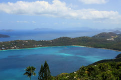 Magens Bay in St Thomas Stock Image