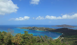 Magens Bay in St Thomas Royalty Free Stock Photography