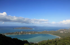 Magens Bay in St Thomas Royalty Free Stock Images