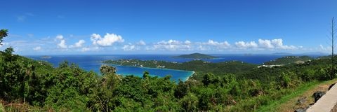 Magens Bay, US Virgin Island St. Thomas Royalty Free Stock Photos