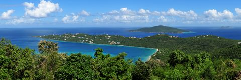Magens Bay, US Virgin Island St. Thomas Royalty Free Stock Images