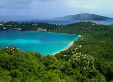 Magens Beach in St. Thomas US Virgin Island royalty free stock image