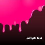 Magenta картина краски масла Стоковая Фотография