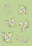 magenta осени астр много пинк настроения Стоковые Фото