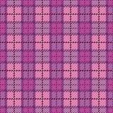 magenta фиолет шотландки пиксела Стоковая Фотография RF