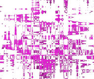 Magenta Abstraction. By using a strong color Magenta against a white background give a very contrasting effect Royalty Free Illustration