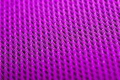 Magenta achtergrond De textuur van de netwerkstof Macro Royalty-vrije Stock Afbeeldingen