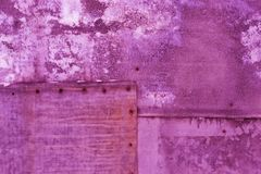 Magenta background with pearl stains royalty free stock image