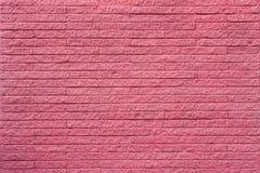 Magenta bakstenen muur Stock Foto