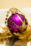 Magenta ball Stock Photography