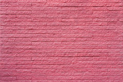 Magenta brick wall Stock Photo