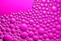 Magenta Bubbles Stock Photo