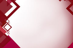 magenta color square left side, abstrack background Royalty Free Stock Photography