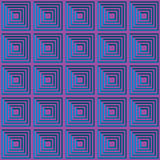 Magenta and cyan party grid background Stock Image