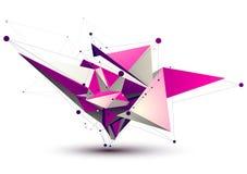 Magenta eigentijdse eps8 technologiebouw Royalty-vrije Stock Afbeeldingen