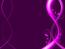 Magenta Floral Background Royalty Free Stock Photo