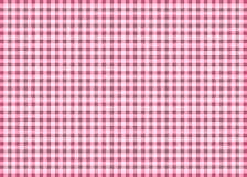 Magenta Gingham Pattern Background Stock Photography