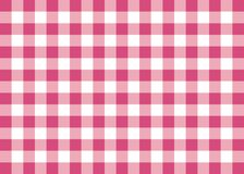 Magenta Gingham Pattern Background Royalty Free Stock Images