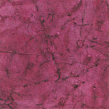 Magenta handmade paper. With pattern royalty free stock photography