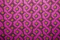 Magenta Peacock Patterns Royalty Free Stock Photos