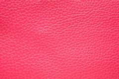 Magenta Pink Leather background Stock Images