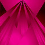 Magenta ray Royalty Free Stock Image