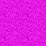 Magenta seamless triangle background Stock Image