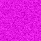 Magenta seamless triangle background Stock Image