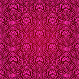Magenta seamless wallpaper Stock Photo