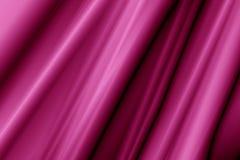 Magenta silk предпосылка Стоковая Фотография
