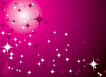 Magenta sky Royalty Free Stock Image