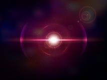 Magenta space explosion, cosmos burst Royalty Free Stock Photos