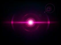 Magenta space explosion, cosmos burst Stock Photos