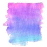Magenta tones watercolor Stock Photos