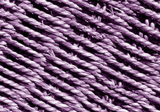 Magenta Wicker basket braided texture. Abstract background and texture for design and ideas stock photography