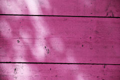 Magenta wooden fence Royalty Free Stock Photos