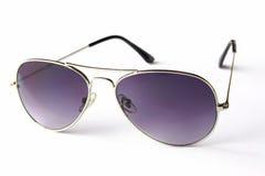 Magenta zonnebril Stock Foto's