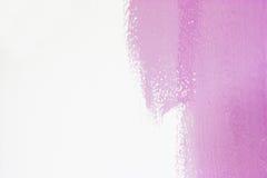 magentafärgad målarfärg för abstrakt bakgrund Arkivbilder