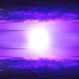 magentafärgad sky Royaltyfria Foton