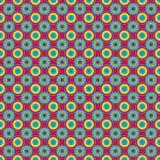Magentafärgat oupphörligt raster Royaltyfri Bild