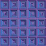 Magentaroter und cyan-blauer Partyrasterfeldhintergrund Stockbild