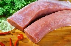 Mager Varkensvlees Royalty-vrije Stock Afbeeldingen