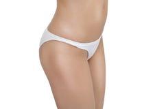 Mager vrouwelijk lichaam Stock Foto