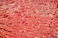 Mageres Rinderhackfleisch stockfoto