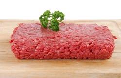 Mageres Rinderhackfleisch lizenzfreies stockfoto