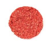Mageres Rinderhackfleisch-Pastetchen stockbilder