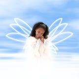 magestic的天使 库存照片