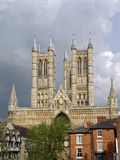 Magestic cathedral in Lincoln, Lincolnshire Royalty Free Stock Photo