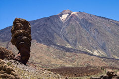 The magestic Teide Stock Photos