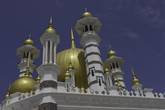Magestic Ubudiah Mosque Royalty Free Stock Photos